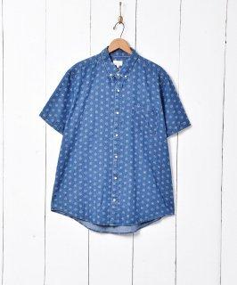 古着総柄 半袖シャツ 古着のネット通販 古着屋グレープフルーツムーン