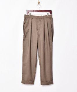 古着「Backers」2タック スラックスパンツ 古着のネット通販 古着屋グレープフルーツムーン