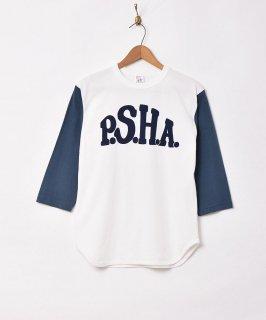 古着ラグランスリーブ 七分丈 プリントTシャツ 【P.S.H.A】 古着のネット通販 古着屋グレープフルーツムーン
