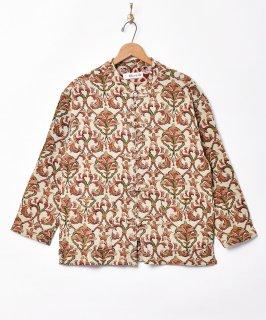 古着ゴブラン織り チャイナボタンジャケット 古着のネット通販 古着屋グレープフルーツムーン