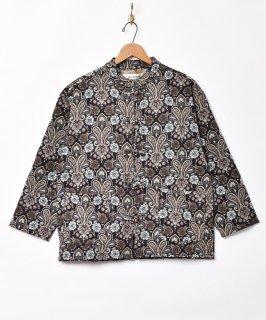 古着ゴブラン織り ペイズリー柄 チャイナボタンジャケット 古着のネット通販 古着屋グレープフルーツムーン
