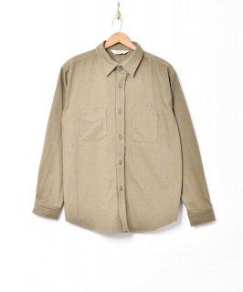 古着【2色展開】「Backers」ヘリンボーン ワークシャツ オリーブ 古着のネット通販 古着屋グレープフルーツムーン