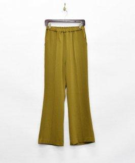古着【2色展開】「Meridian」フレア イージーパンツ オリーブ 古着のネット通販 古着屋グレープフルーツムーン