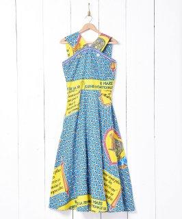 古着アフリカンバティックドレス 古着のネット通販 古着屋グレープフルーツムーン