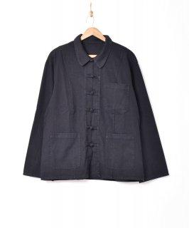 古着【2色展開】チャイナデザイン ジャケット ブラック 古着のネット通販 古着屋グレープフルーツムーン