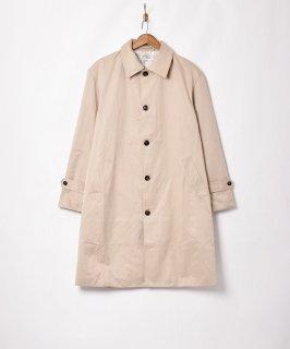 古着【3色展開】「Backers」ステンカラー ロングコート ベージュ 古着のネット通販 古着屋グレープフルーツムーン