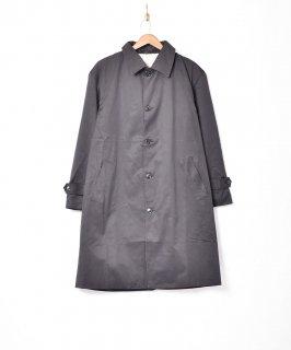 古着【3色展開】「Backers」ステンカラー ロングコート ブラック 古着のネット通販 古着屋グレープフルーツムーン