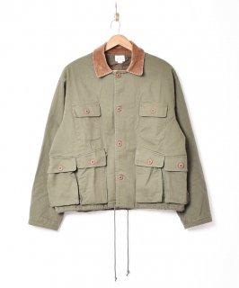 古着「Backers」コーデュロイカラー フィッシングジャケット 古着のネット通販 古着屋グレープフルーツムーン