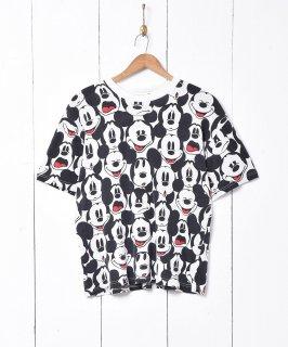 古着ミッキー 総柄 Tシャツ 古着のネット通販 古着屋グレープフルーツムーン