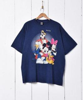 古着ディズニー キャラクタープリントTシャツ 古着のネット通販 古着屋グレープフルーツムーン