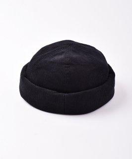 古着【3色展開】コーデュロイ ロールキャップ ブラック 古着のネット通販 古着屋グレープフルーツムーン