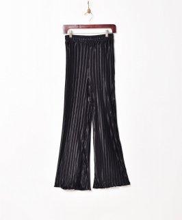 古着【4色展開】「Meridian」プリーツフレアイージーパンツ ブラック 古着のネット通販 古着屋グレープフルーツムーン