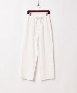 古着【2色展開】「TEMPTATION」ヘリンボーン ヘビーコットン イージーパンツ ホワイト 古着のネット通販 古着屋グレープフルーツムーン