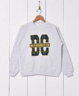 古着Washington カレッジプリントスウェットシャツ 古着のネット通販 古着屋グレープフルーツムーン