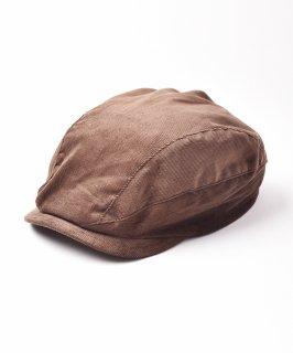 古着【3色展開】コーデュロイハンチング ブラウン 古着のネット通販 古着屋グレープフルーツムーン