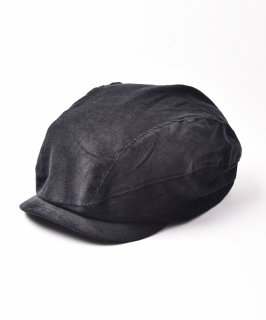 古着【3色展開】コーデュロイハンチング ブラック 古着のネット通販 古着屋グレープフルーツムーン