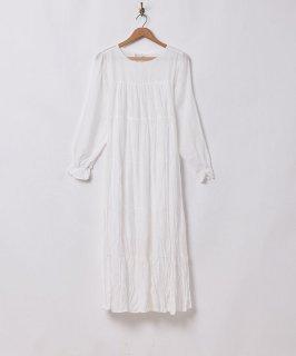 古着【3色展開】「Meridian」バックリボンワンピース ホワイト 古着のネット通販 古着屋グレープフルーツムーン