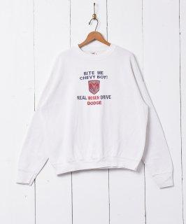 古着英字刺繍 スウェットシャツ 古着のネット通販 古着屋グレープフルーツムーン
