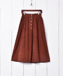 古着アメリカ製 ロング丈 コーデュロイスカート 古着のネット通販 古着屋グレープフルーツムーン