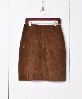 古着アメリカ製 Ralph Lauren タイト コーデュロイスカート 古着のネット通販 古着屋グレープフルーツムーン