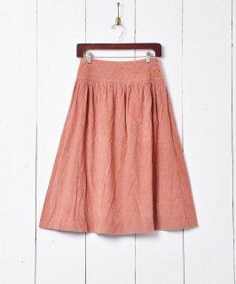 古着アメリカ製 フレアコーデュロイスカート 古着のネット通販 古着屋グレープフルーツムーン