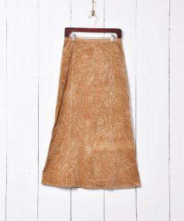 古着ロング丈 コーデュロイスカート 古着のネット通販 古着屋グレープフルーツムーン