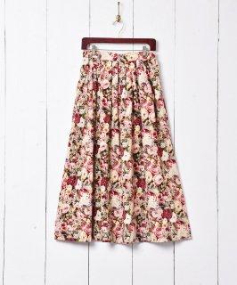 古着花柄 コーデュロイスカート 古着のネット通販 古着屋グレープフルーツムーン