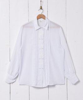古着刺繍 ダブルボタン 長袖シャツ 古着のネット通販 古着屋グレープフルーツムーン