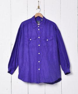 古着Lizwear 長袖 シルクシャツ 古着のネット通販 古着屋グレープフルーツムーン
