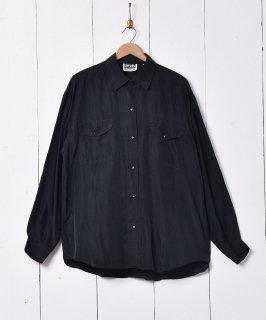 古着長袖 シルクシャツ 古着のネット通販 古着屋グレープフルーツムーン