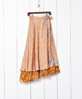 古着レイヤード ラップスカート 古着のネット通販 古着屋グレープフルーツムーン