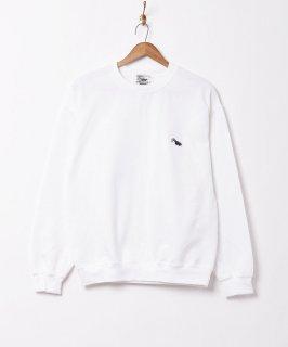 古着【4色展開】「Backers」ワンポイント スカンクスウェットシャツ ホワイト 古着のネット通販 古着屋グレープフルーツムーン