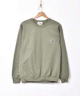 古着【4色展開】「Backers」ワンポイント スカンクスウェットシャツ グリーン 古着のネット通販 古着屋グレープフルーツムーン