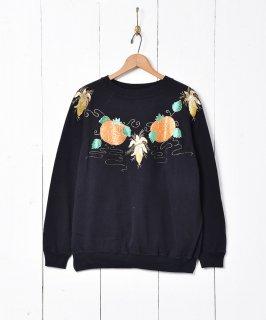 古着アメリカ製 パンプキン スウェットシャツ 古着のネット通販 古着屋グレープフルーツムーン