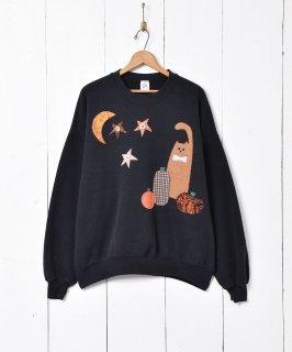 古着アメリカ製 デザイン ハロウィンスウェットシャツ 古着のネット通販 古着屋グレープフルーツムーン