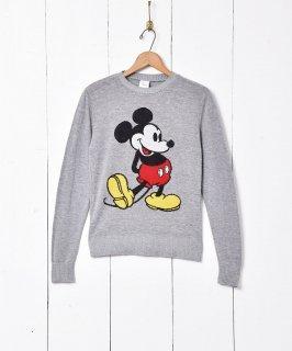 古着ミッキーマウス セーター 古着のネット通販 古着屋グレープフルーツムーン
