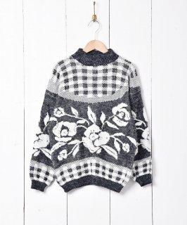 古着アメリカ製 モノトーンセーター 古着のネット通販 古着屋グレープフルーツムーン