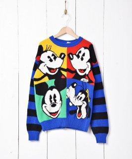 古着ディズニーキャラクターセーター 古着のネット通販 古着屋グレープフルーツムーン