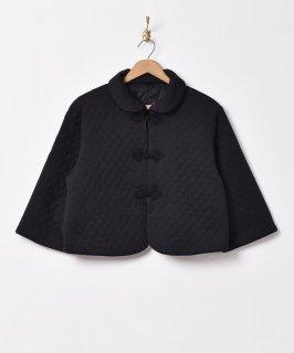 古着【3色展開】キルティング チャイナジャケット  ブラック 古着のネット通販 古着屋グレープフルーツムーン