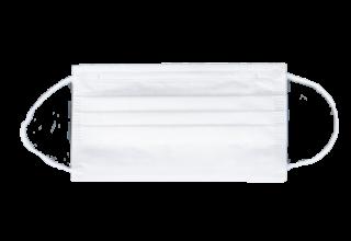 不織布 3層マスク メルトブローン 使い捨て 白色 レギュラー 男女兼用 大人 立体 耳が痛くない低圧ゴム 【50枚】