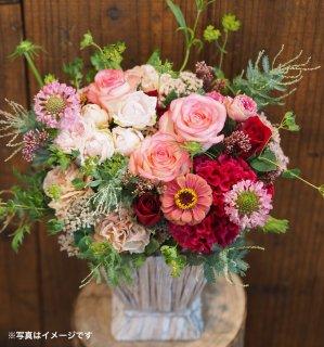 【税込・送料込】山口県産のバラを使ったアレンジメント