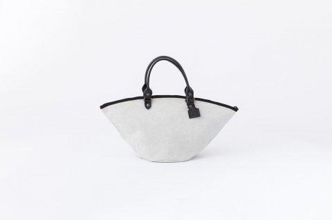 ZANZIBAR<br>XS bag ZIP<br>cotton<br>stone wash<br><MASTIC>
