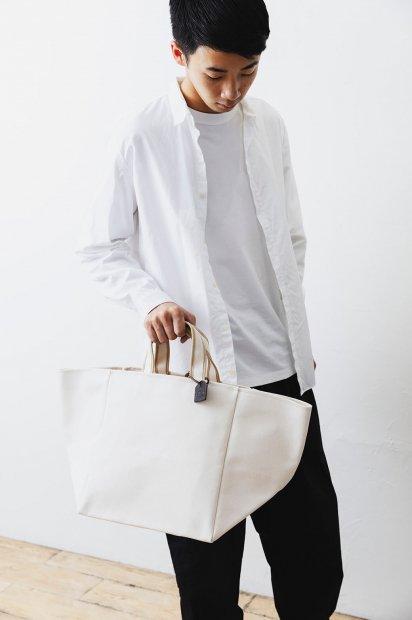 MILA<br>SUMMER bag<br>cotton<WHITE>