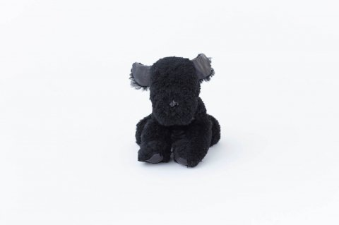 DOG<br>DOORSTOP<br>MERINO CURLY<br><BLACK×BLACK>