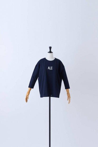 7分袖<br>プリントTシャツ<br>【ALE】<br><コン>