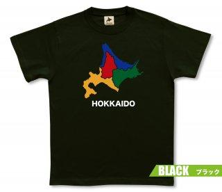 4色北海道 Tシャツ