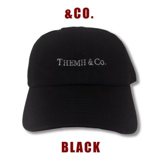 【&Co.】ボールキャップ(ブラック)