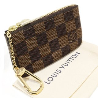 LOUIS VUITTON ルイヴィトン N62658 ポシェット・クレ ダミエ エベヌ コインケース