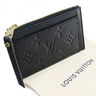 LOUIS VUITTON ルイヴィトン M68339 ポルト カルト・ジップ モノグラム アンプラント ノワール