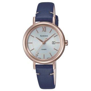 カシオ SHEEN SHS-D300CGL-7BJF スワロフスキークリスタル1P ソーラー時計 シーン レディース腕時計 国内正規品